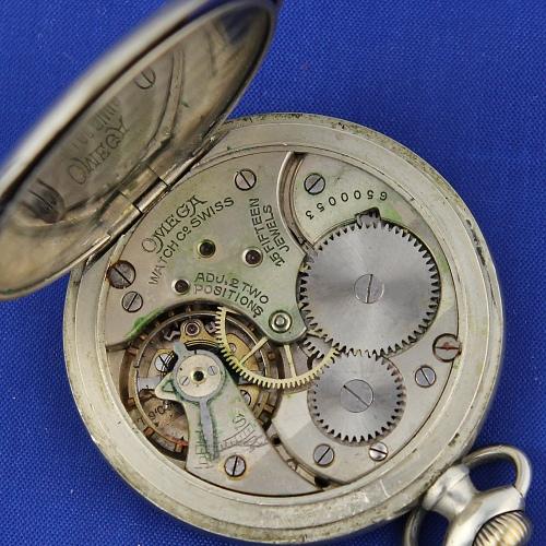 Vreckové hodinky OMEGA (2)  3ba65d45a1c