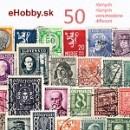 Námetové balíčky poštových známok 50ks