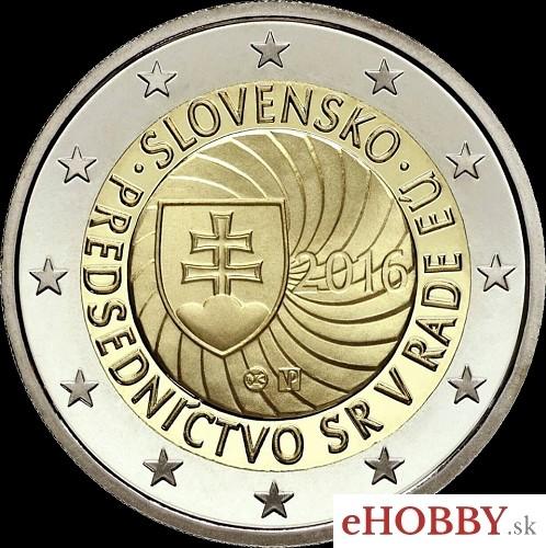 c3b419b2e Euromince. 2 EURO - Slovensko 2016