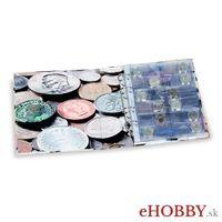 "Album OPTIMA ""coins"" + 5 mincových listov."
