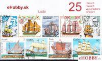 Balíček poštových známok 25ks - LODE