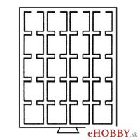 Box LIGNUM na 20 papierových puzdier na mince