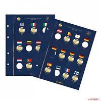 """Listy na 2 Euromince VISTA """"30 rokov EU vlajky"""""""
