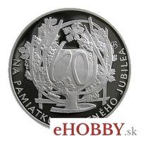 """Medaila Ag k životnému jubileu """"60 rokov"""""""