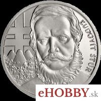 """Medaila Ag """"Ľudovít Štúr - 200.výročie narodenia"""""""