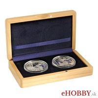 "Medaily Ag ""Nezrealizované motívy zberateľ.mincí - 10€ Karpatské bukové pralesy"""