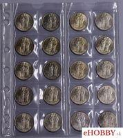 Konvolut 20 mincí 20 Ks/1941 Cyril a Metod