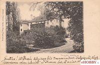 Pohľadnica kaštieľ Brodzany 1905