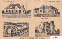 Pohľadnica Topoľčany 1920 - štvorzáberová pohľadnica