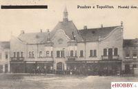 Pohľadnica Topoľčany - Mestský dom