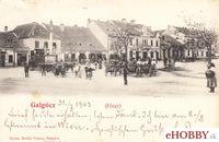 Pohľadnica Hlohovec 1903 - Hlohovský Jarmok