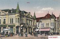 Pohľadnica Levice - trhovisko