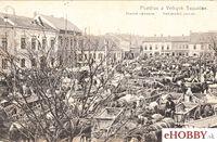Pohľadnica Topoľčany 1919 - Veľkonočný Jarmok