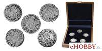 """Súbor replík mincí """"Kremnické groše 1329 - 1705 """""""