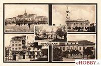 Pohľadnica Topoľčany 1947 (2)
