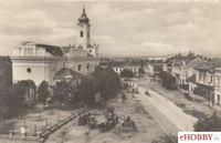Pohľadnica Topoľčany 1952