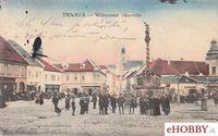Pohľadnica Trnava 1921 - Wilsonové námestie
