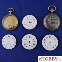 Vreckové hodinky 3x strojček + 2x rozobraté hodinky