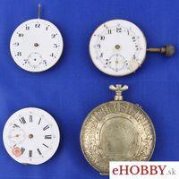 Vreckové hodinky 3x strojček + púzdro