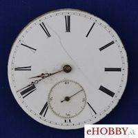 Vreckové hodinky Kľúčikový strojček