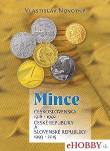 Mince Československa, Českej a Slovenskej republiky 1918-2015