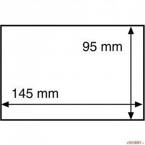 Ochranná fólia na pohľadnicu 145x95 mm