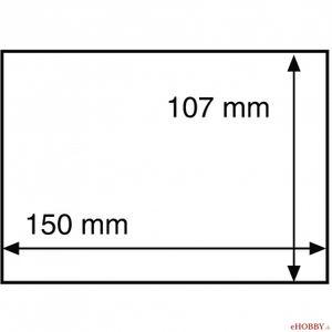 Ochranná fólia na pohľadnicu 150x107 mm