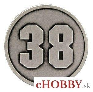 """Odznak """"38"""""""